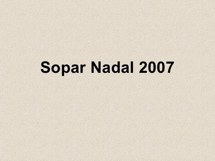 Soparnadal2007