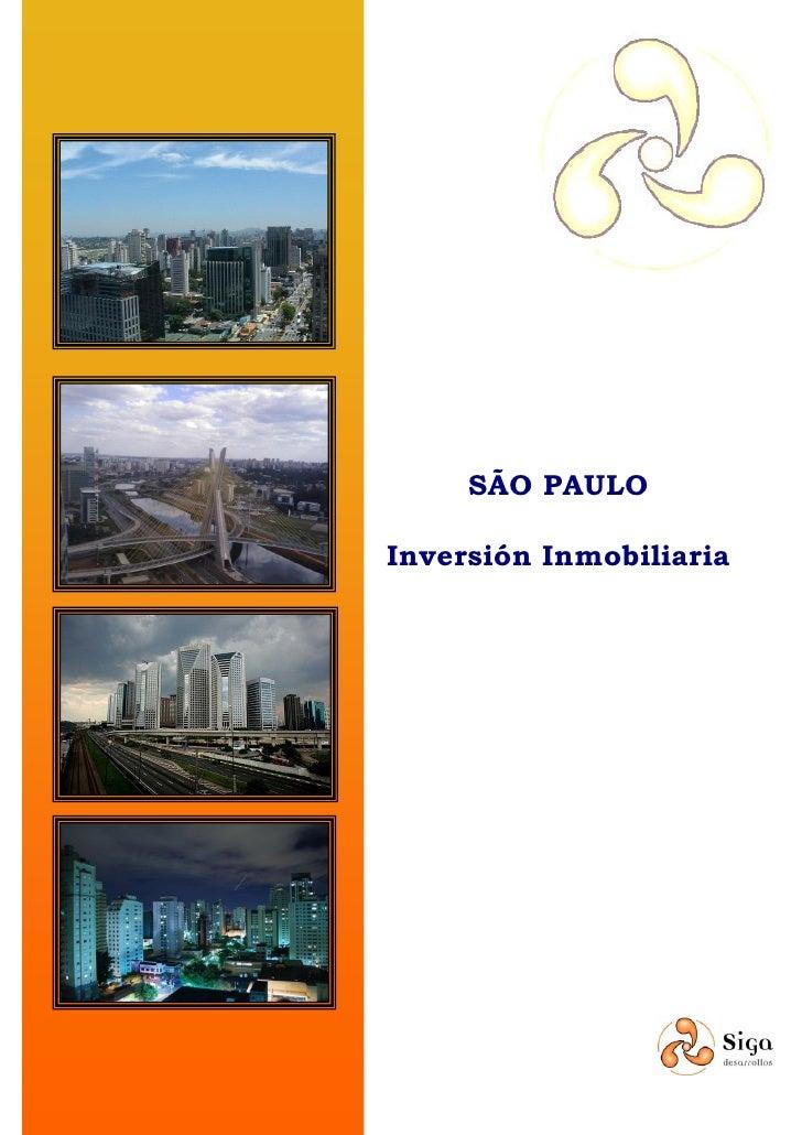 SãO Paulo Inversión Inmobiliaria