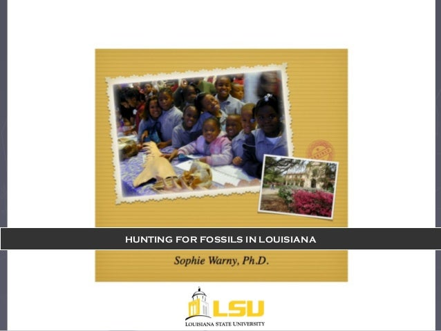 LSU MNS hunting for fossils in gravels