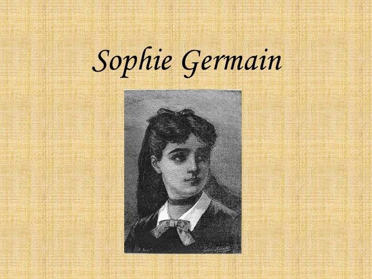 Sophie Germain<br />