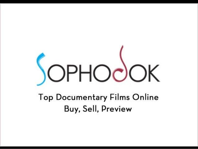 Sophodok- Buy and sell documentary films, online