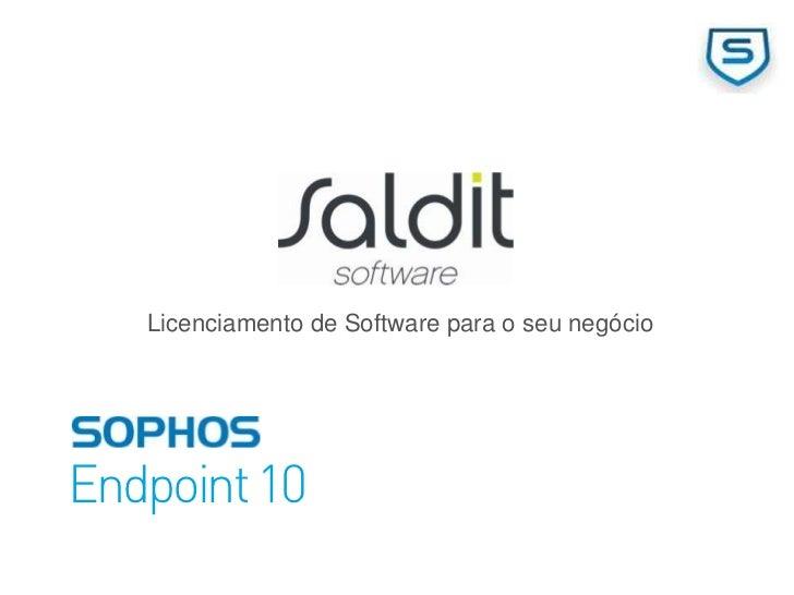 Licenciamento de Software para o seu negócioEndpoint 10