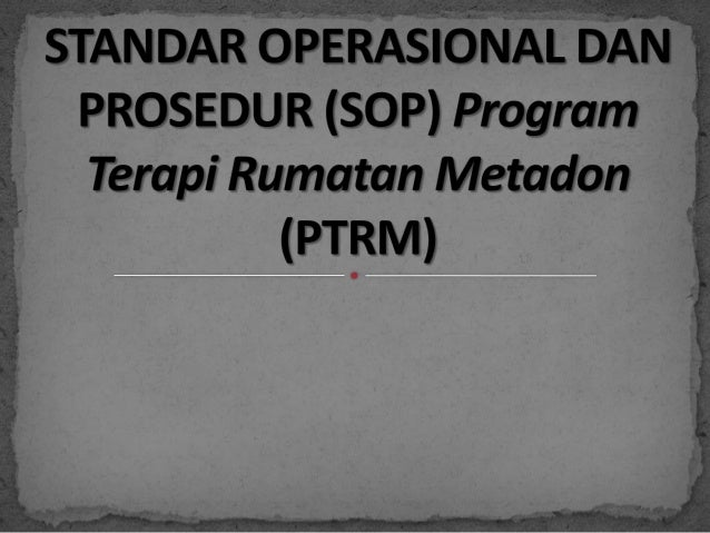 SOP PTRM Indonesia
