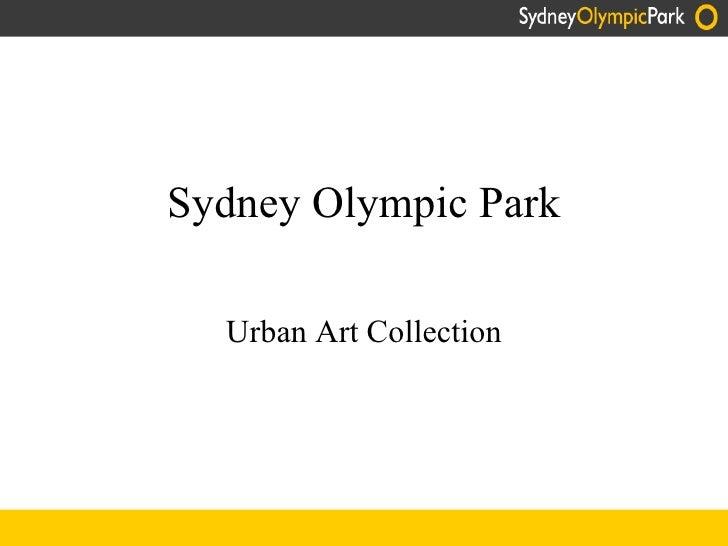 Sydney Olympic Park Urban Art Collection