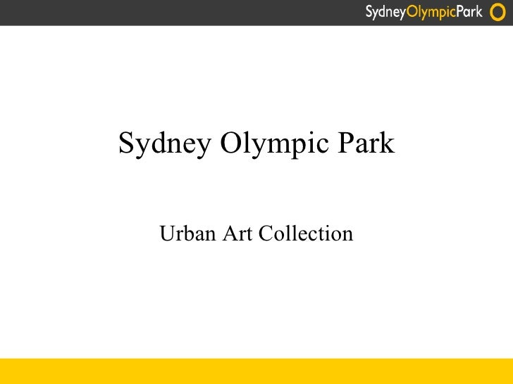 Urban Art at Sydney Olympic Park