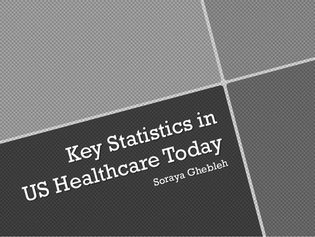 Soraya Ghebleh - Key Healthcare Statistics in the United States