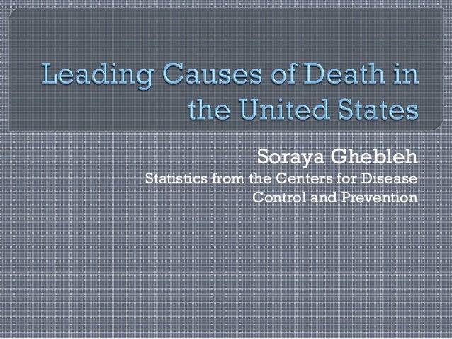 Soraya Ghebleh - Leading Causes of Death