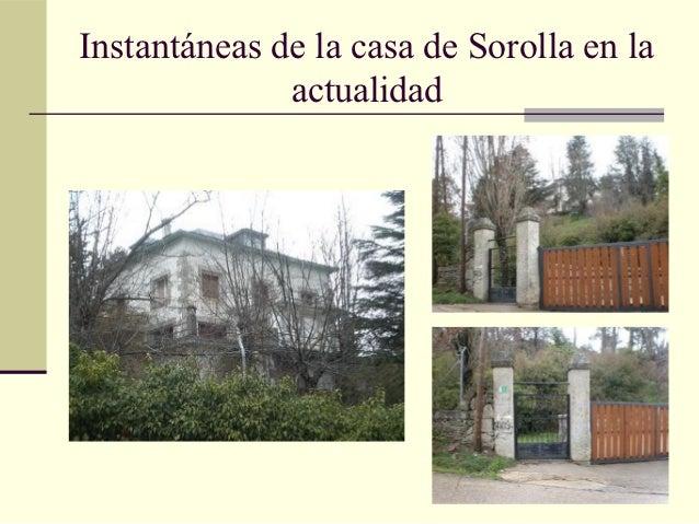 Sorolla y cercedilla - Casa de sorolla en madrid ...