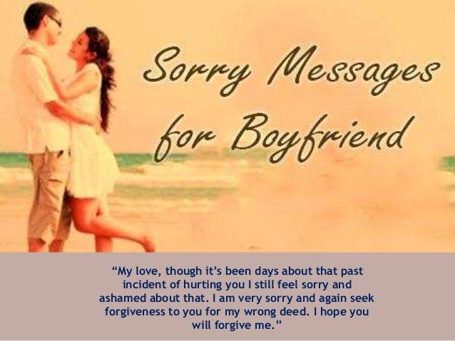 Heartfelt Sorry Text Messages