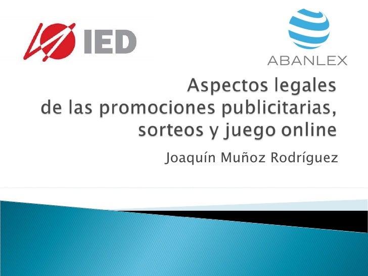 Joaquín Muñoz Rodríguez