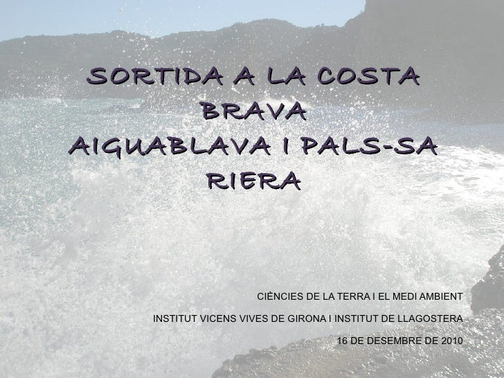 Geologia a Begur- Aiguablava-Pals- Sa Riera pp2007