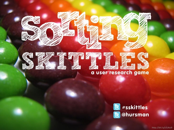 rtin so g SKITTLES     a user research game                   #sskittles               @hursman                           ...
