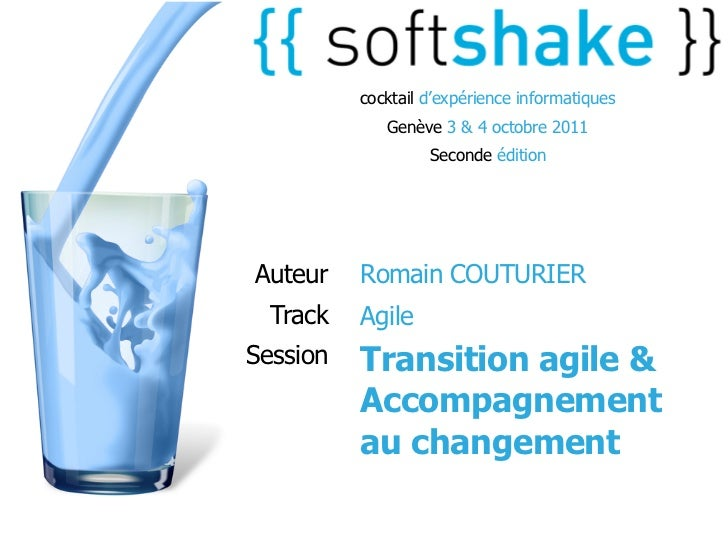 soft-shake.ch - Transition agile & Accompagnement au changement