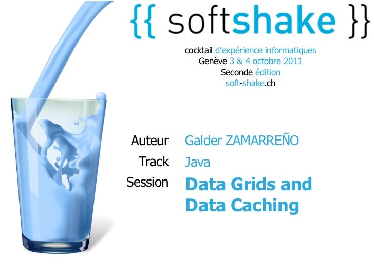 soft-shake.ch - Data grids and Data Caching