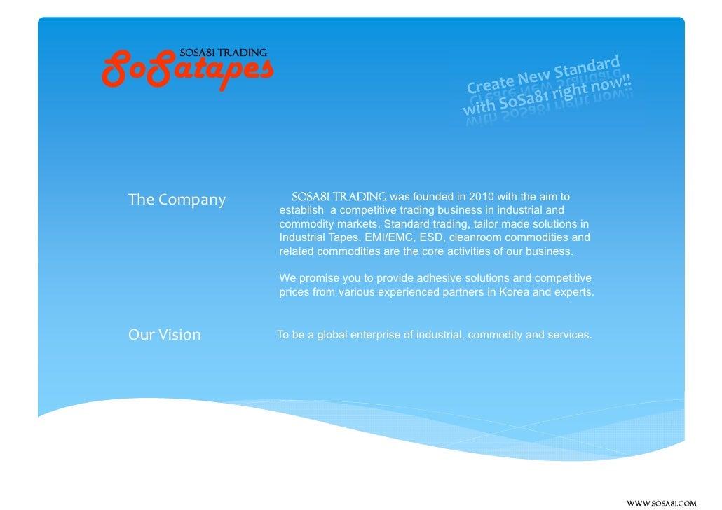 SOSA81TRADING company introduction