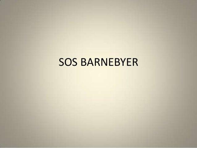 SOS BARNEBYER