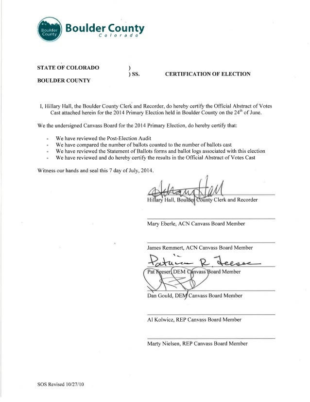 SOS Certification Form 070714