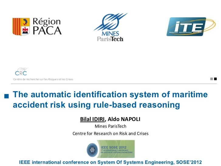 The automatic identification system of maritime accident risk using rule-based reasoning