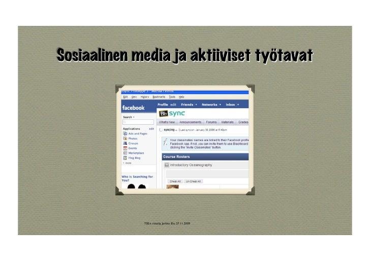 TSE:n risteily, Jarkko Elo, 27.11.2009