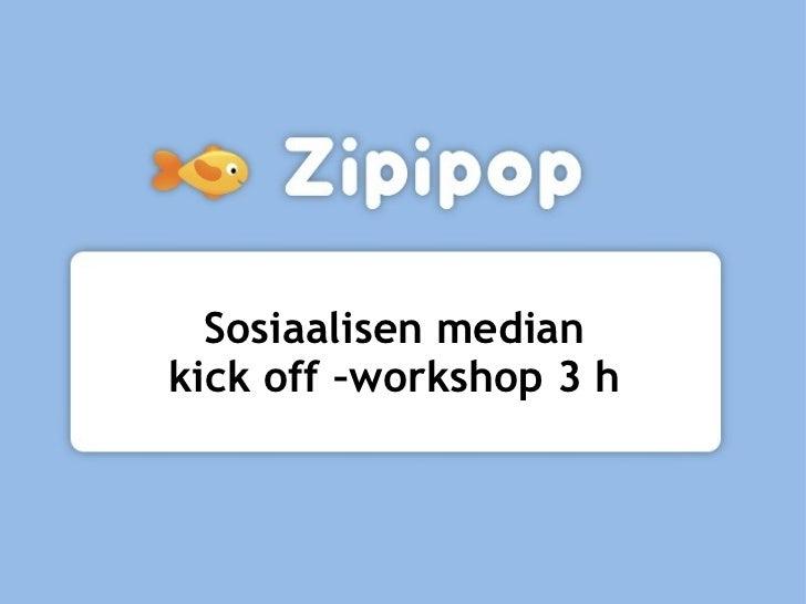 Sosiaalisen median kick off 19.5.2011