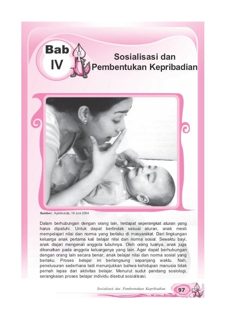 Sosialisasi dan kepribadian
