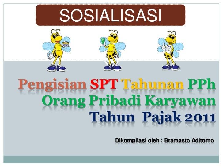 Sosialisasi Pengisian SPT untuk Karyawan