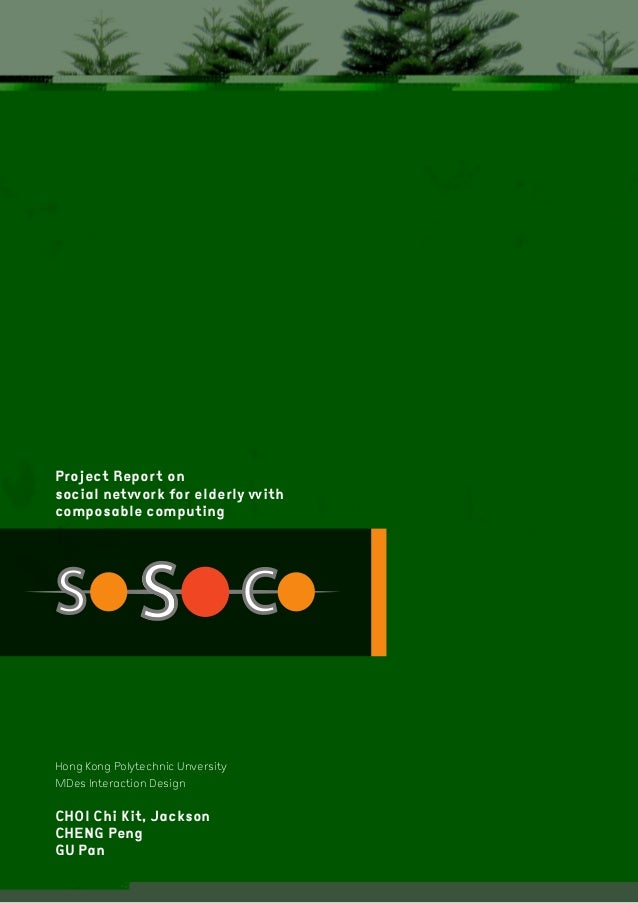 SoSoCo project for elderly