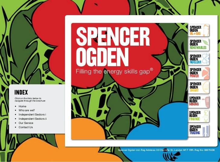 Spencer Ogden Brochure