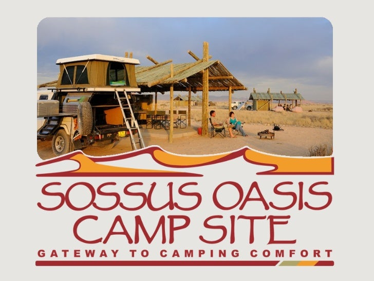 Luxury Camp Site, each site with private facilities