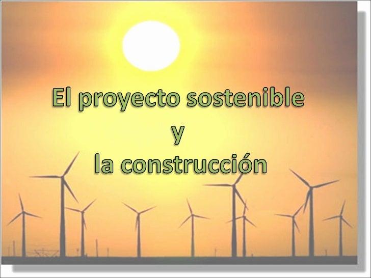 Consideraciones sobre Sostenibilidad