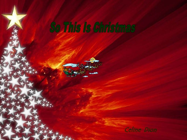 christmas songs by celine dion lyrics