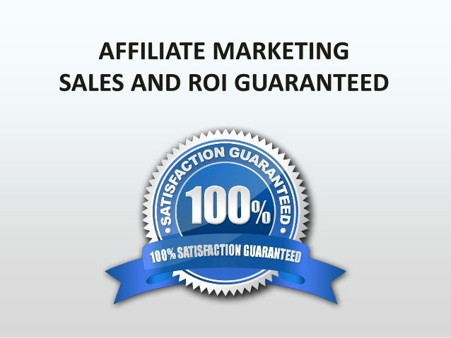 Affiliate marketing: Η κεωρία