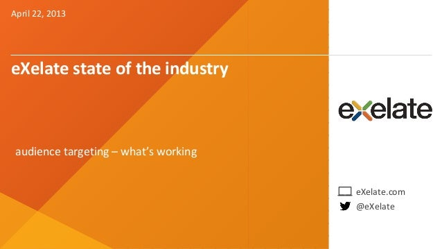eXelate State of the Industry 2013