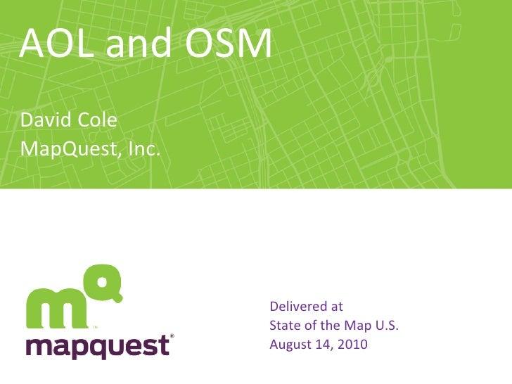 SOTM US 2010 AOL Local Participation