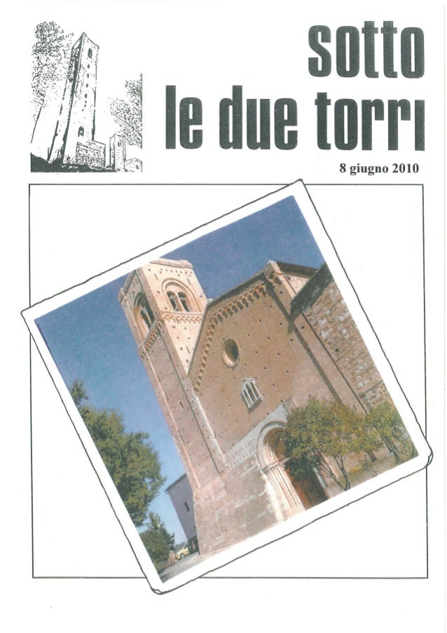 Sotto le due torri - San Severino Marche