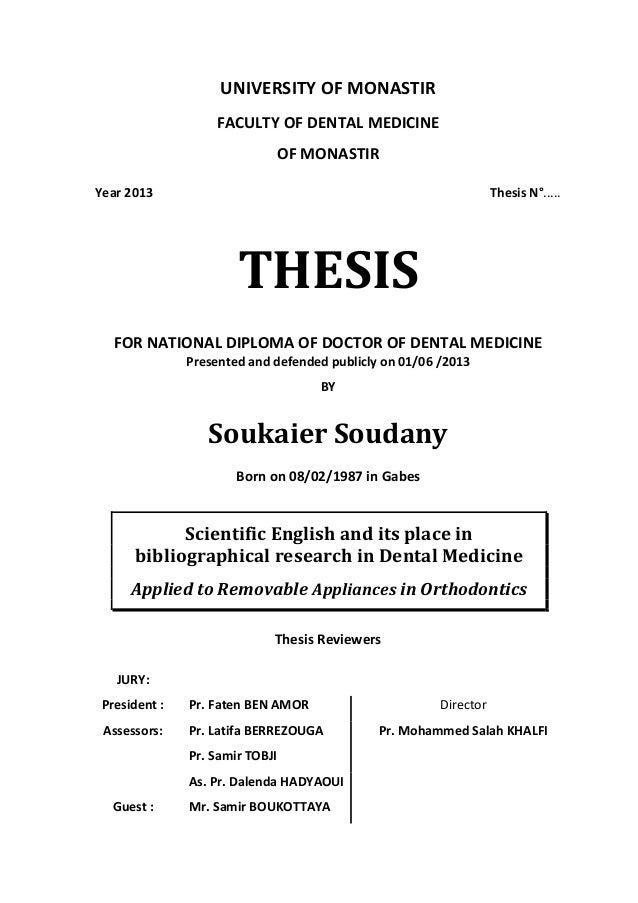 Doctoral thesis jury