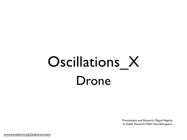 SoundSpace Oscillations X : DRONE