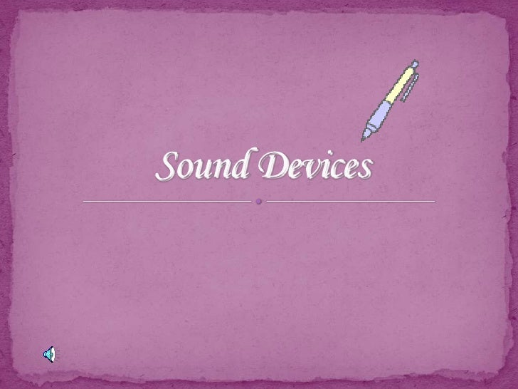 Sound Devices<br />