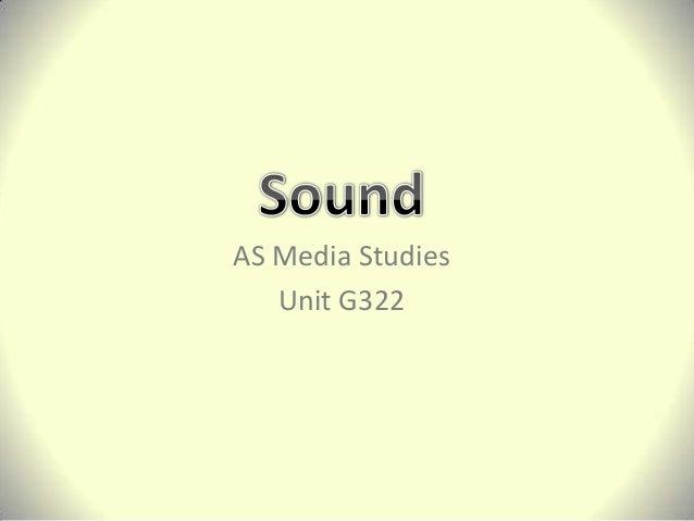 Sound Lesson 2013