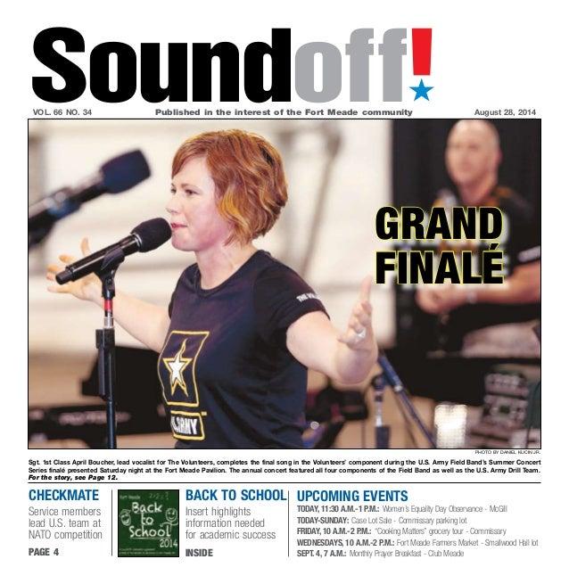 Soundoff August 28, 2014