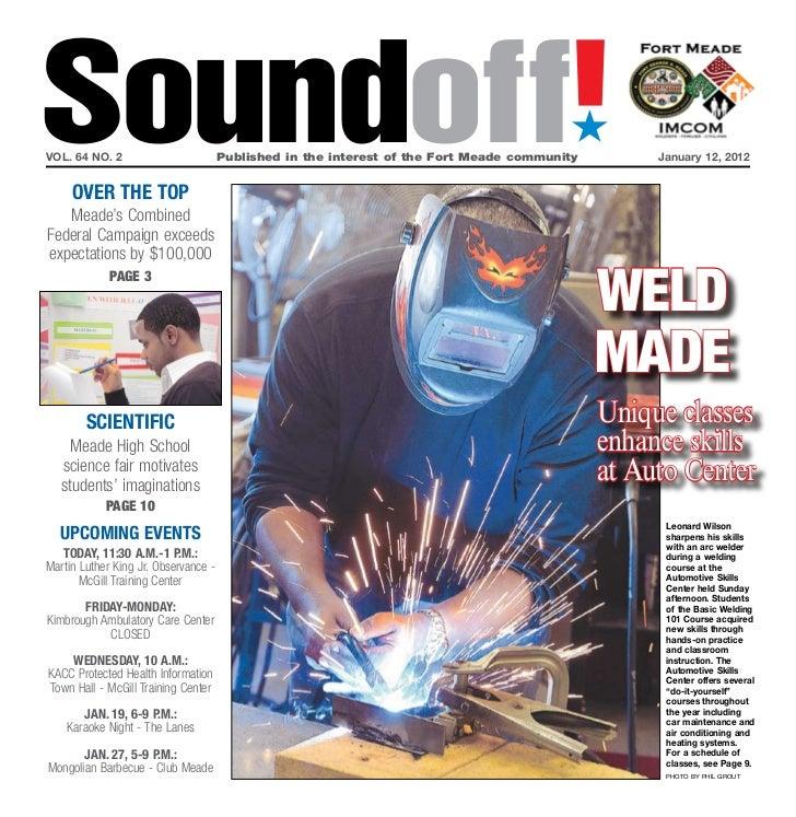 Soundoff!vol. 64 no. 2     OVEr ThE TOP                                                                                   ...
