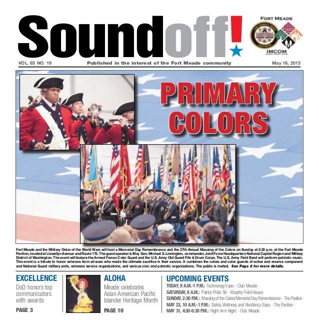 Soundoff May 16, 2013