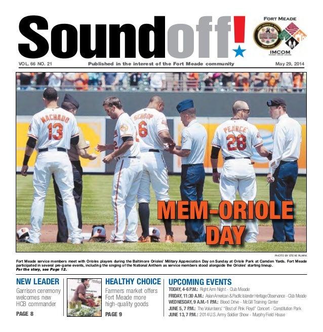 Soundoff May 29, 2014