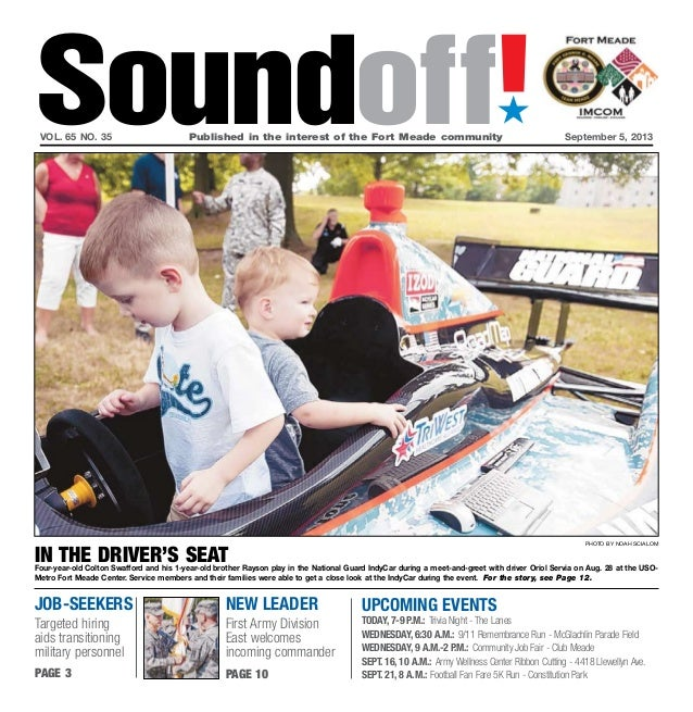 Soundoff September 5, 2013