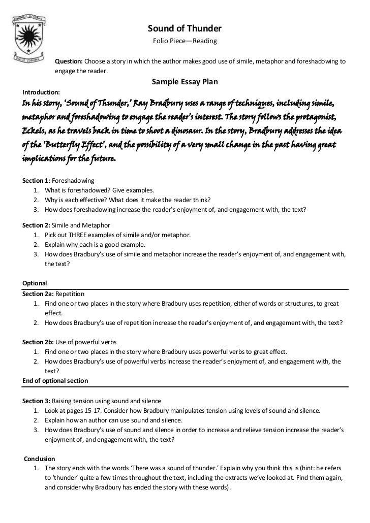 Writing an essay: using similes & metaphors