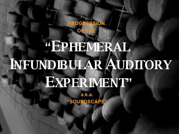 Soundscape Part II