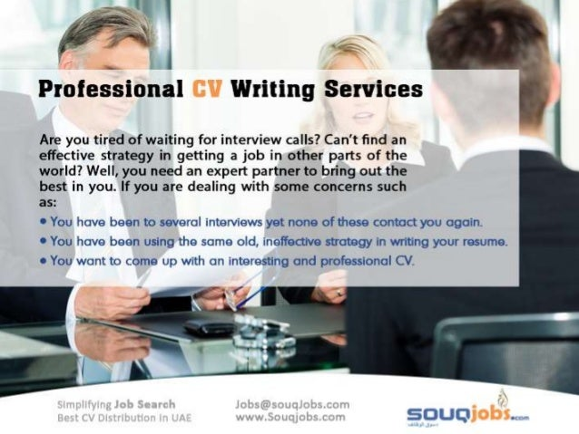 Cv writing service jobs