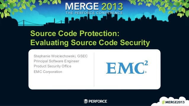 [EMC] Source Code Protection