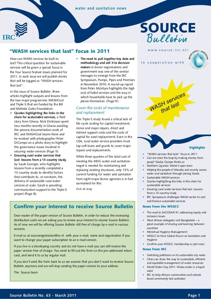 Source bulletin 63-2011