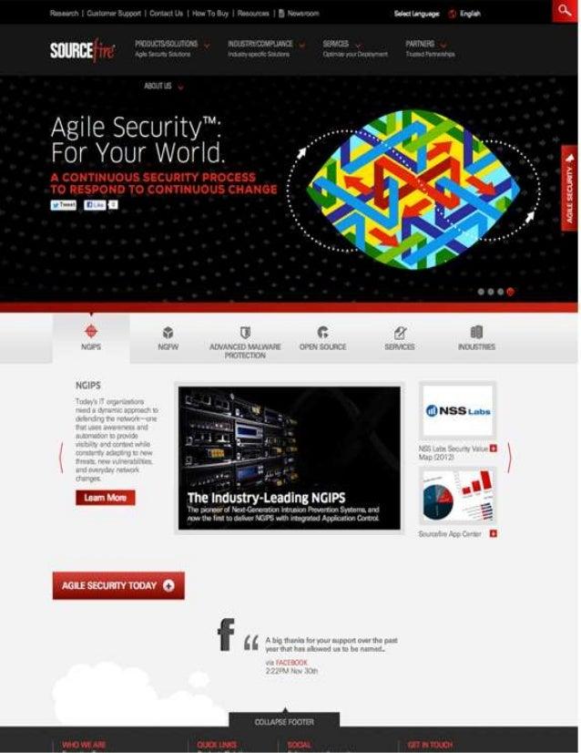 Source Fire Rebranding and Responsive Digital Platform